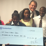BSG donates R110k to LEAP schools