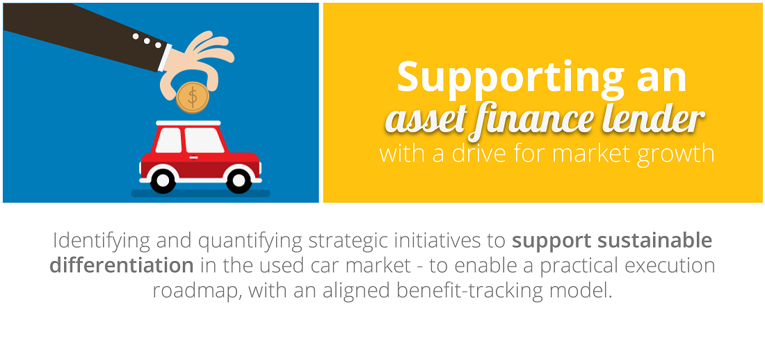 Case Study Overview: Supporting an asset finance lender with a drive for market growth