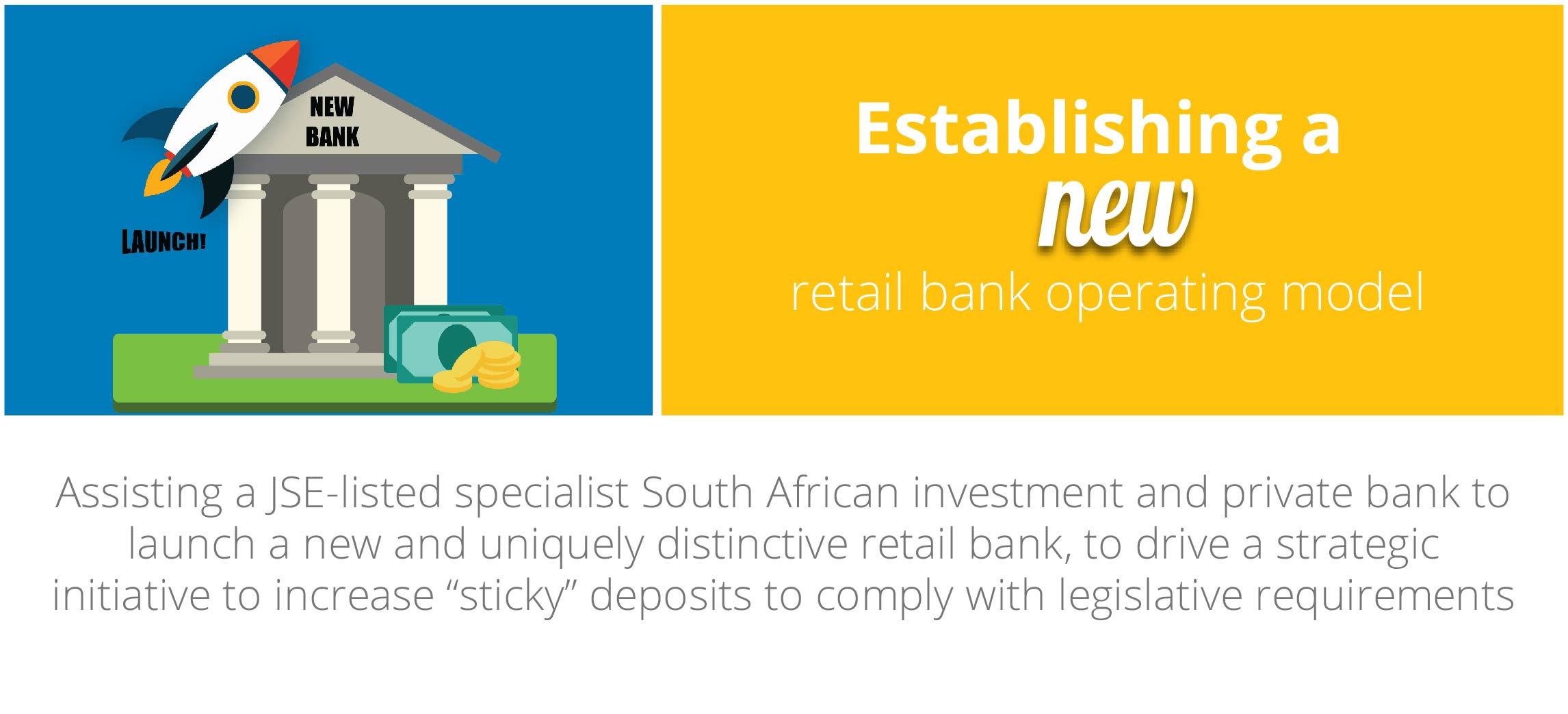 Case Study: Establishing a new retail bank operating model