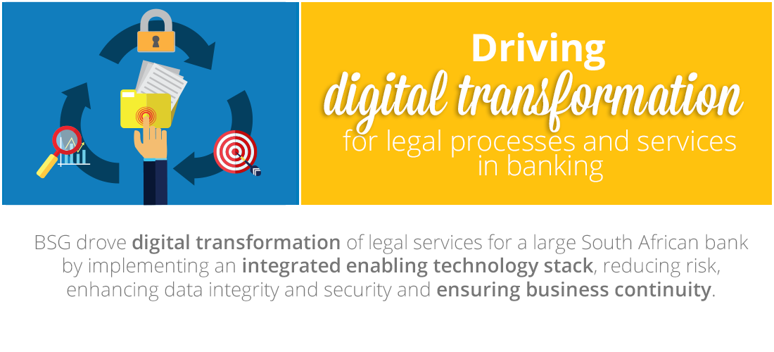 Case Study: Powering digital transformation for legal services in banking