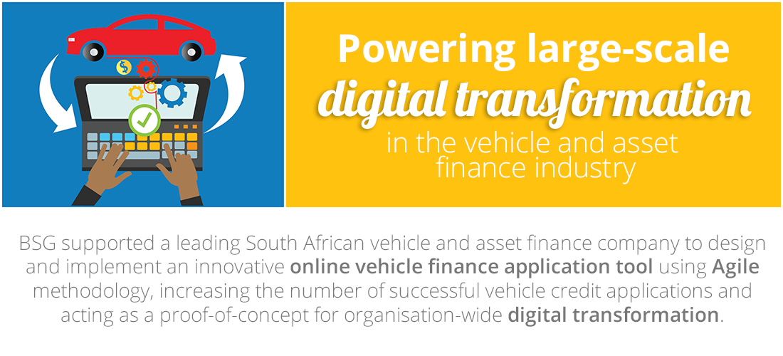 Case Study: Powering large-scale digital transformation in the vehicle and asset finance industry