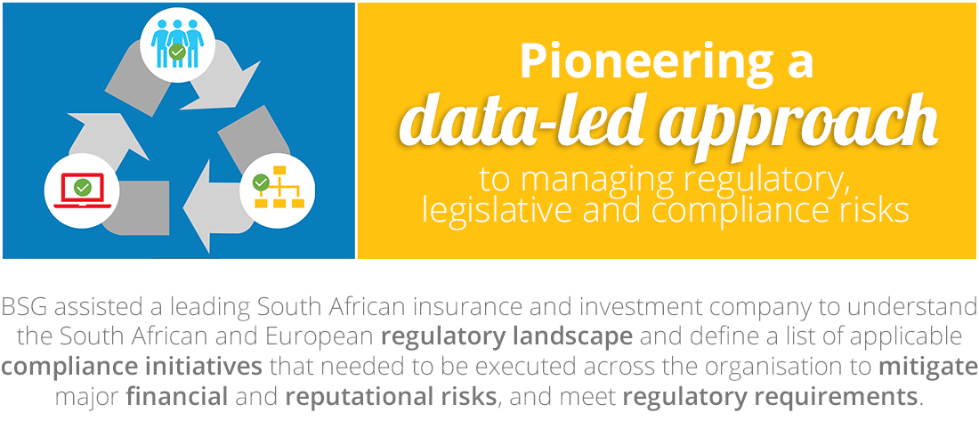 Case Study: Pioneering a data-led approach to managing regulatory, legislative and compliance risks
