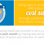 saving the client an estimated R40m per month using data