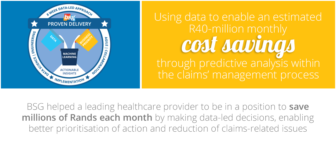 Case Study: Taking a data-led approach to predict high-risk cases and prioritise action within the claims' management process