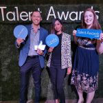BSG CEO, Jurie Schoeman, Hina Soni and Lorraine Deane, BSG Marketing and Relationship Sales Operations Manager attended the LinkedIn Talent Awards in Sandton on Thursday 17 October