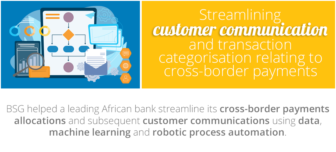 Case Study: Streamlining customer communication and transaction categorisation relating to cross-border payments