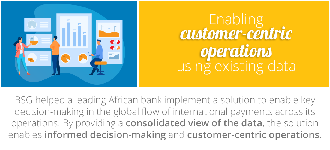 Case Study: Enabling customer-centric operations using existing data